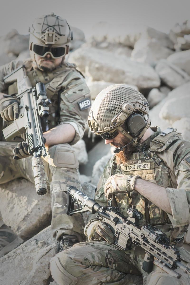 صور لـ #البنادق #حرب #جندي #دخان #عمل #صحراء