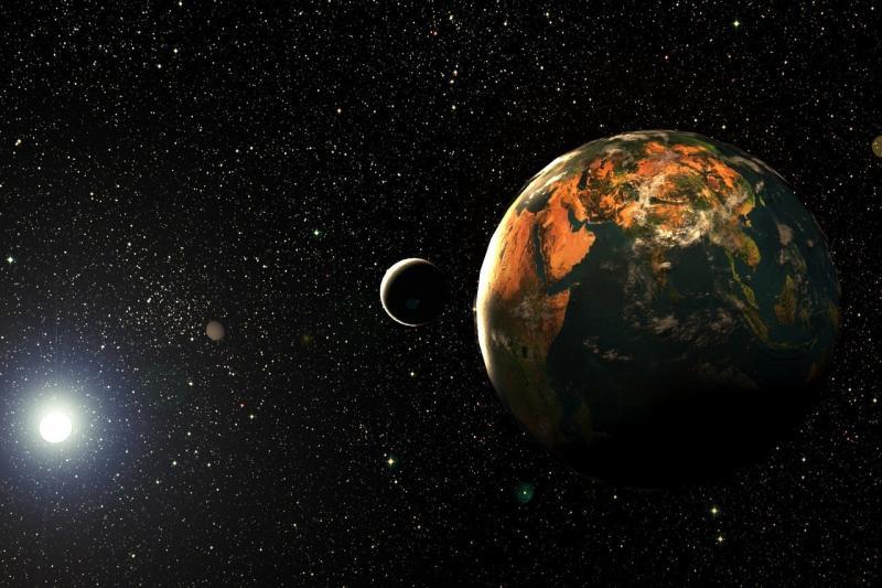صور تحتوي #كروي #الفلك #كوكب #القمر #المجرة