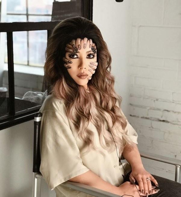 فنانة #الماكياج # Mimi_Choi تقوم بأعمال مبهرة من #خداع_البصر #Illusion باستخدام #ماكياج فقط #بنات #فن - 6