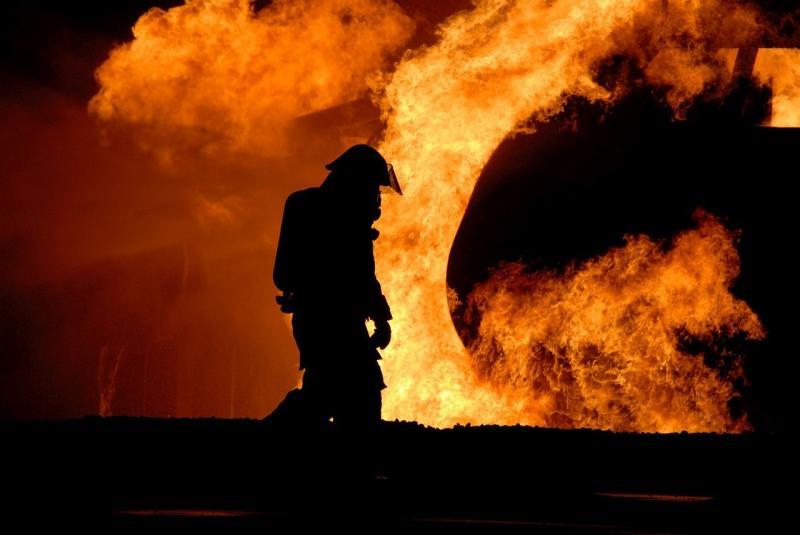 صور لـ #تدريب #حي #خاضع_للسيطرة #نار #رجال_الاطفاء