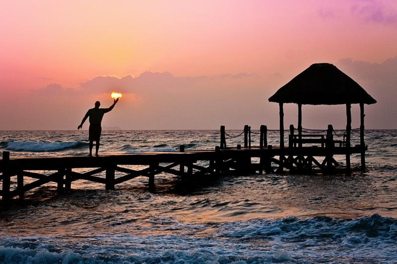 صور تحتوي #تحتجز #أمواج #محيط #خيال #رجل #الند #شمس