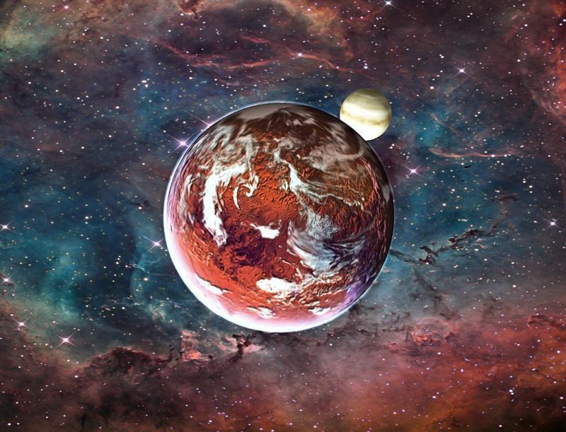 صور تحتوي #كوكب #سديم #خيال #ضوء #كون #الخيال_العلمي #الكواكب