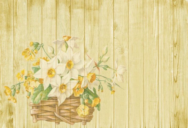 صور تحتوي #زهور #سلة #ربيع #عيد_الفصح #خلفية #حنين_إلي_الوطن