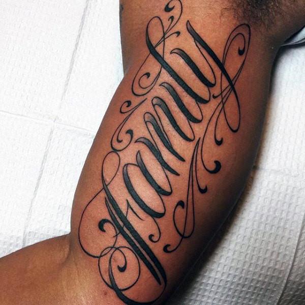 #وشوم #Tattoos منوعة تحمل رموز وعبارات عن #العائلة - 91
