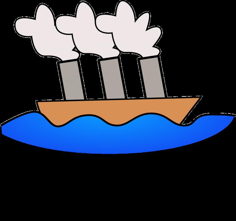 صور لـ #رسوم_متحركة #محيط #سفينة #قارب #بخار