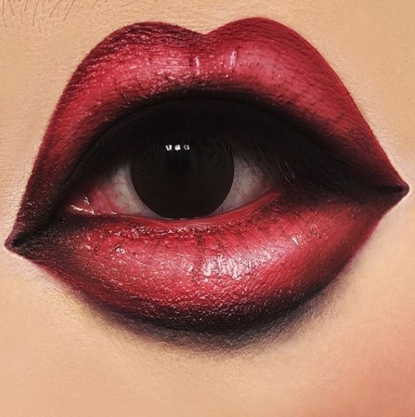 فنانة #الماكياج # Mimi_Choi تقوم بأعمال مبهرة من #خداع_البصر #Illusion باستخدام #ماكياج فقط #بنات #فن - 8