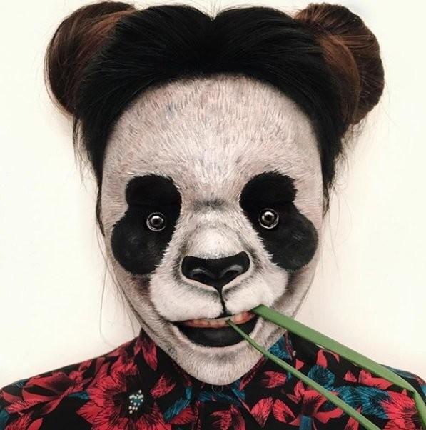 فنانة #الماكياج # Mimi_Choi تقوم بأعمال مبهرة من #خداع_البصر #Illusion باستخدام #ماكياج فقط #بنات #فن - 10