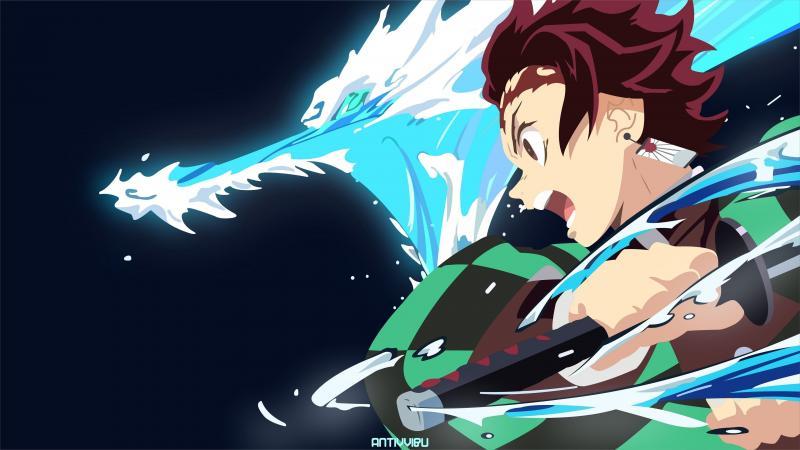 #خلفيات #أنيمي #Anime #تانجيرو #Tanjiro #ياباني - 15