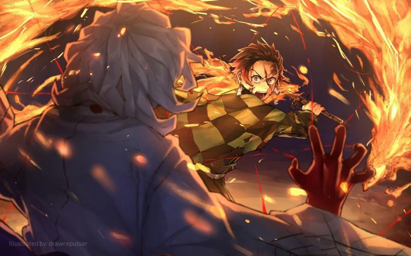 #خلفيات #أنيمي #Anime #تانجيرو #Tanjiro #ياباني - 29