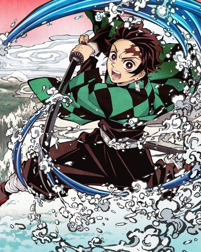 #خلفيات #أنيمي #Anime #تانجيرو #Tanjiro #ياباني - 22