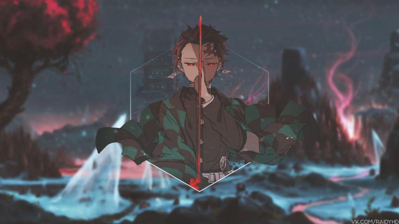 #خلفيات #أنيمي #Anime #تانجيرو #Tanjiro #ياباني - 14