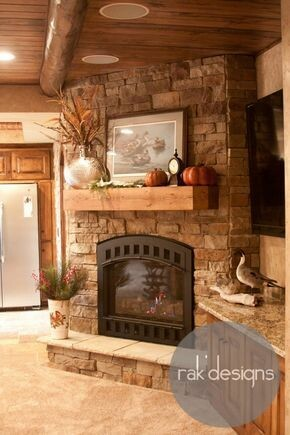 #تصاميم مميزة لمواقد #منازل #Fire_Place #بيوت - 41