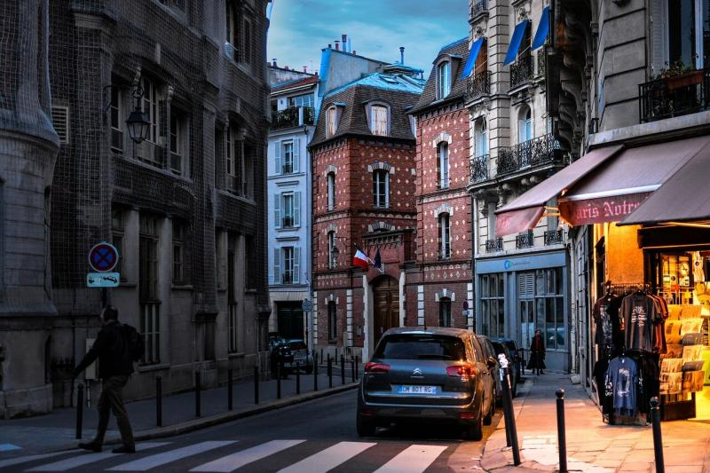 صور لـ #مدينة #تنزه #مساء #شارع #فرنسا #فرنسي #باريس