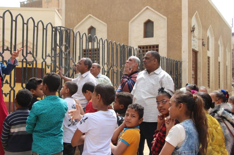 زيارة للمئذنة التاريخية بالمسجد الكبير اسنا