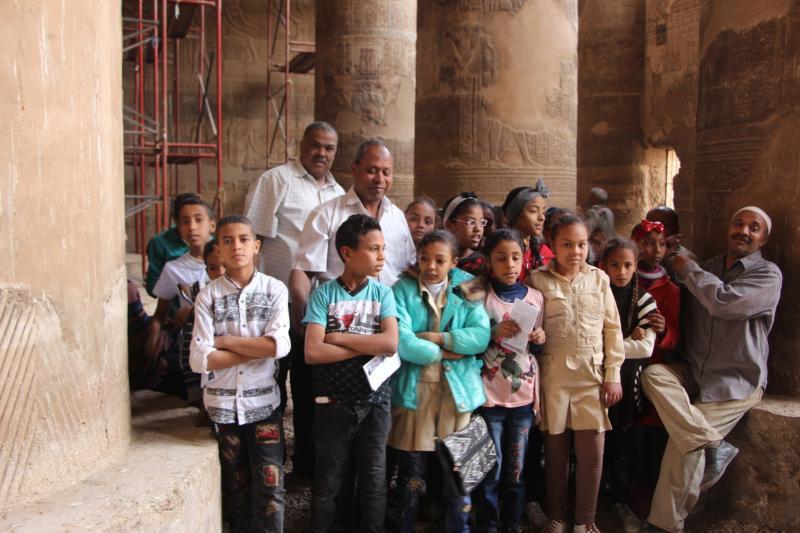 من داخل معبد اسنا