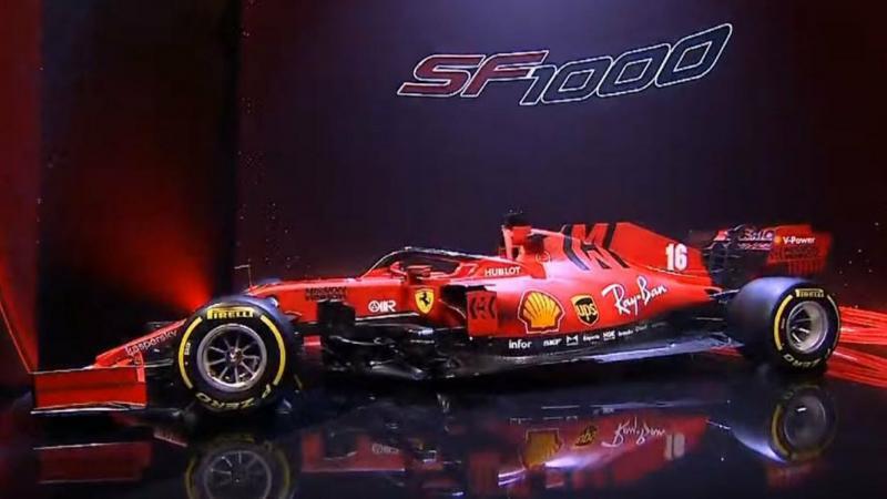 سيارة #فيراري #Ferrari الخاصة بالسباق #SF1000 #سيارات - 2