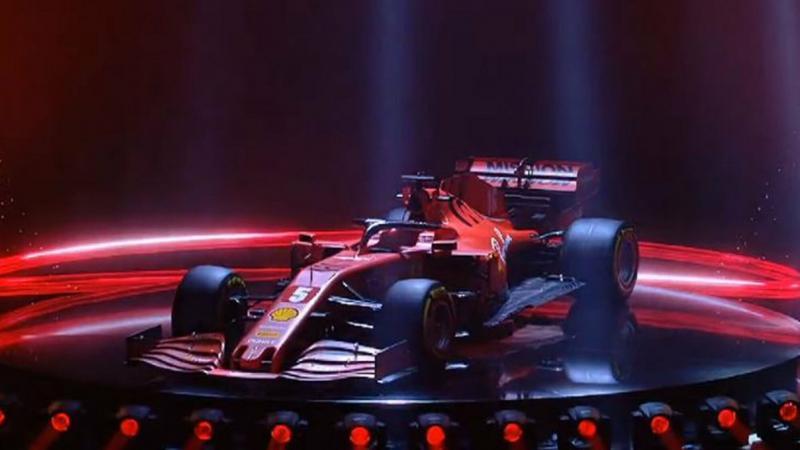 سيارة #فيراري #Ferrari الخاصة بالسباق #SF1000 #سيارات - 1