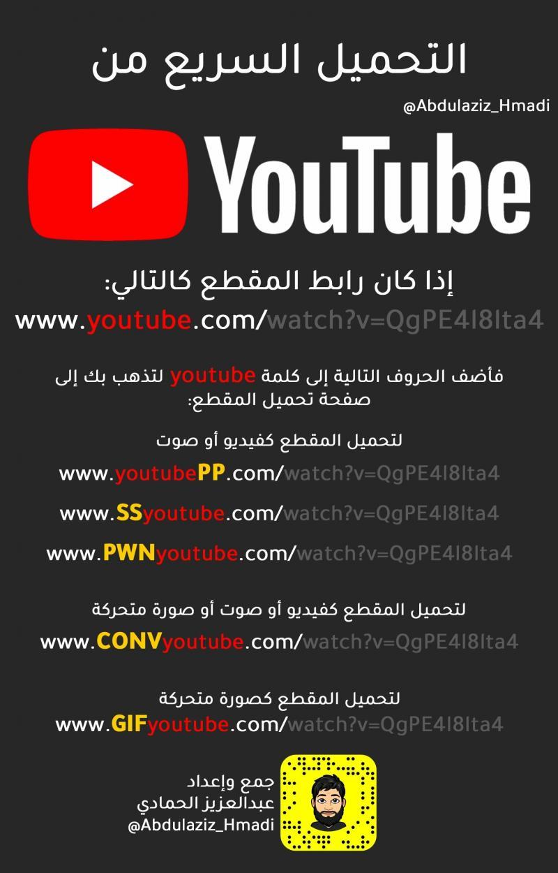 طريقة تحميل أي فيديو من موقع #يوتيوب