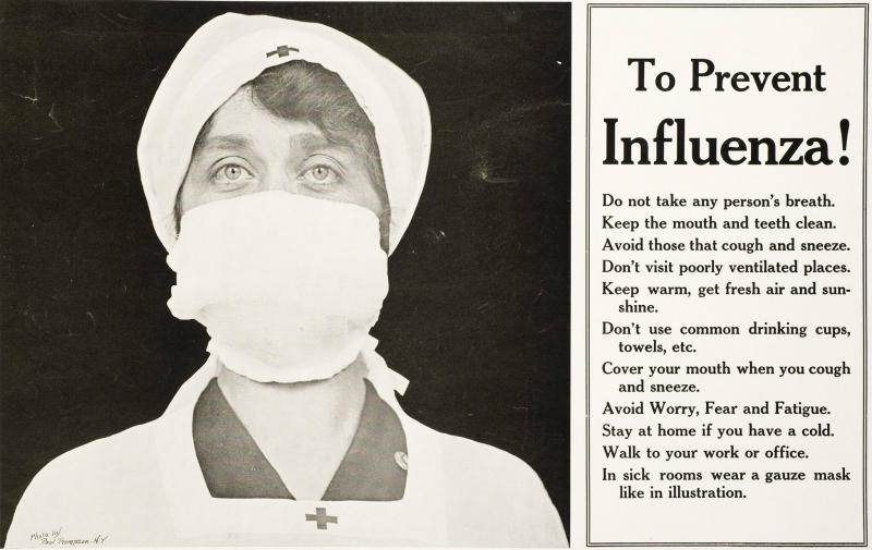 Spanish Flu #N1H1 ads in 1918 , seems humanbeings are the same - 1