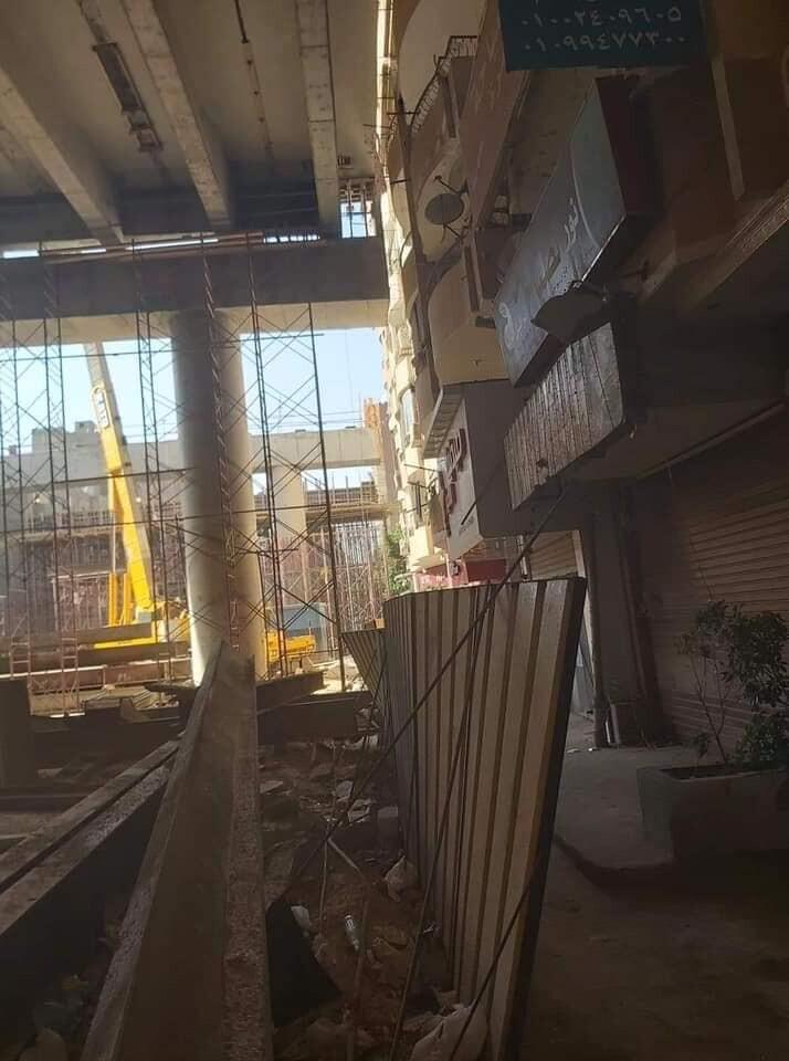 كوبري محور #الملك_سلمان في #القاهرة يثير الجدل بالتصاقها بالبنايات - 3