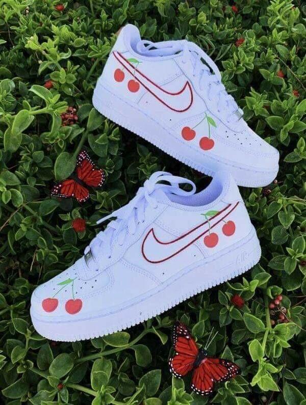 #تصاميم أحذية #Nike معدلة #بنات - 10